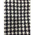 Acrylic Dobby Black White Fabric