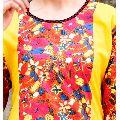 Indian Printed Multicolored Cotton Kurti