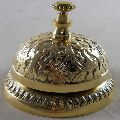 Solid Brass Hotel Counter Bell