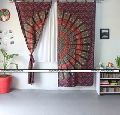 Cotton Mandala Door Curtains