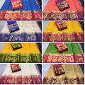 Tussar saree kanchivaram uniform sari