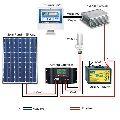Off Grid Solar Home Lighting System
