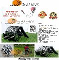 Brush cutter with Paddy Weeder-2 row