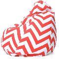 Striped Bean Bag