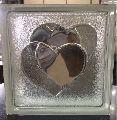 Heart Glass Brick