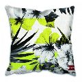 Printed Dupion Cushion Cover