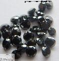 Round Natural Black Diamond