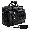 Hard Craft Faux Leather Executive Mens Premium Laptop Messenger Bag