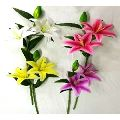 Natural Artificial Lily Flower Stick