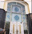 Printed Stained Glass Window
