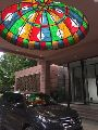 Stylish Stained Glass Dome