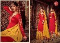 RSF PRESENT MANDORA SATIN GEORGETTE SILK LONG SUIT WITH GHAGHRA STYLE COLLECTION