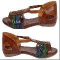 Ladies Fancy Leather Sandals