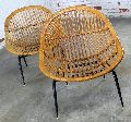 Iron & Wooden Outdoor Chair