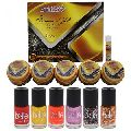 NutriGlow Pack of Platinum and Gold Facial kit with 6 Nail Paints