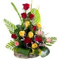 Pretty Mixed Roses Bouquet