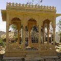 Yellow sand stone temple