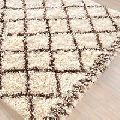 Wool Flokati Rugs for Room Decoration