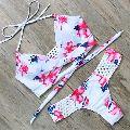 Ladies Printed Bra Panty Set