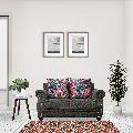 Grey Celestia Two Seater Sofa