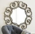 Designer Round Mirror