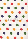 Polyester Dotted Printed Fabric