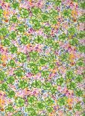 Polyester Flower Printed Fabric