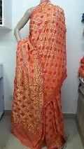 Banarasi Chiffon Silk Saree