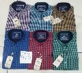 Mens Check Cotton Shirts