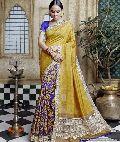 Cotton Culture-3 Bhagalpuri Silk saree