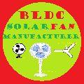 Solar DC Pedestal Fan 12V 16 inches 24 watt