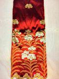 African Raw Silk George Fabric