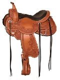 Barrel western Horse saddle