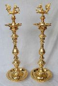 Traditional Gold Plated Annapatchi Lamps