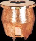 Copper Hammered Tandoor