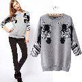 Ladies Round Neck Sweaters
