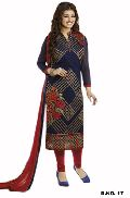 D1010 Georgette Semi Stitched Stright Type Suit