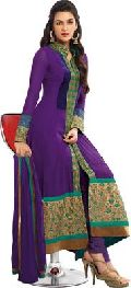 Fs1060 Georgette Embroidary Work Semi Stritched Anarkali Suit