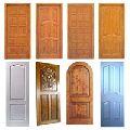 INTERIOR WOOD PANEL DOORS