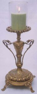 Brass Candle Holders - (3010)