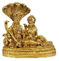 vishnu brass statue