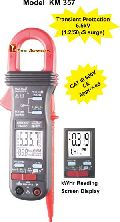 PHASE TRMS POWER CLAMP-ON METER RECORDING FUNCTION
