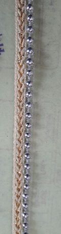 silver moti lace