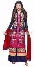 Eknoor SkyBlue Colored Plazoo Salwar Suit