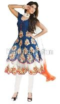 Morepank Designer Blue Anarkali suits