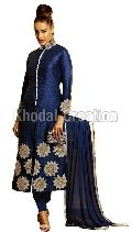 Sayali Blue Color Georgette  Straight suit