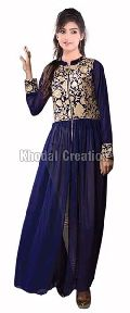 Wonderfull blue coloredAnarkali Suit
