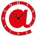 Laser Cut Internet Symbol Designer Wall Clock -LaserCraftStore
