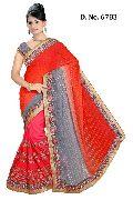 Handwork Wedding Wear Saree