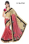 Designer Chiffon Wedding Wear Saree